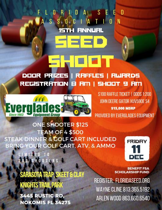 Florida Seed Assoc. Seed Shoot 2020